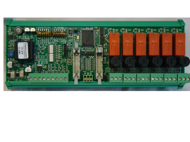TN218 TN 218 Dashboard card with bus for TECNONAUTICA electric system